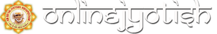 onlinejyotish.com logo for desktop sites